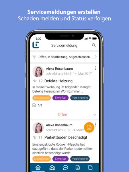 brichard - app servicemeldungen