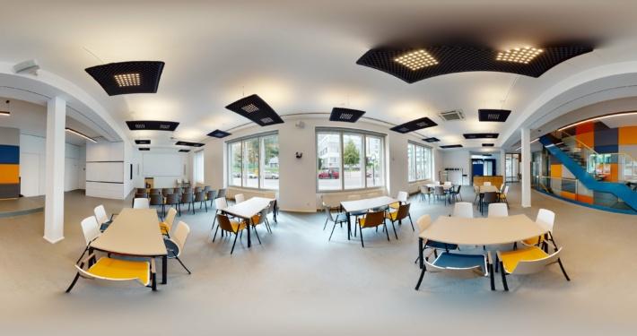360 Grad-Aufnahme Brichard Immobilien Veranstaltungszentrum